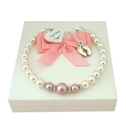 Angel Baby Bracelet for Loss of Baby Girl
